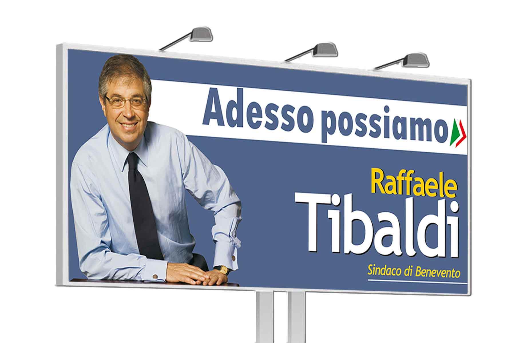 campagna elettorale Tibaldi Benevento