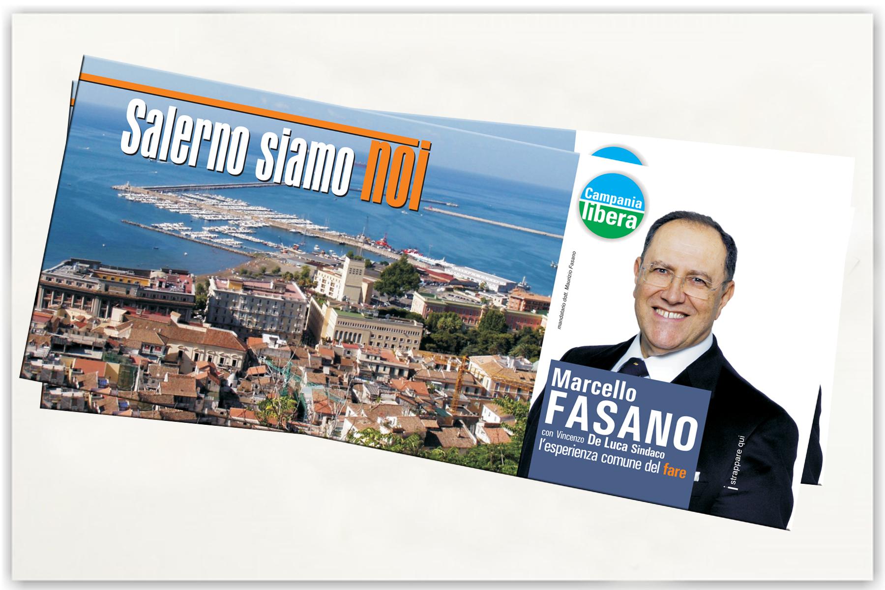 campagna elettorale Salerno Fasano
