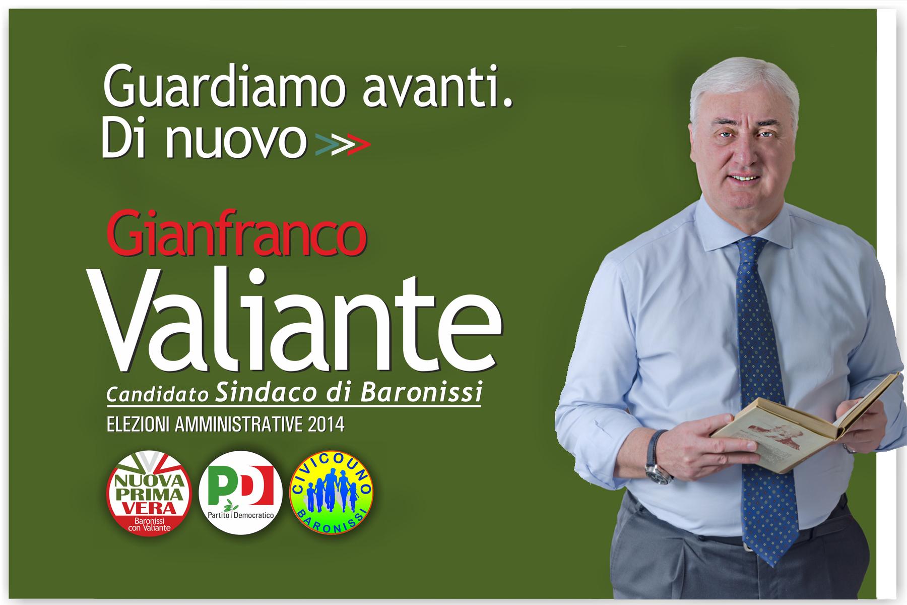 campagna elettorale Gianfranco Valiante