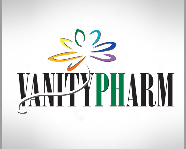 Vanitypharm naming e logo design nel segno del benessere