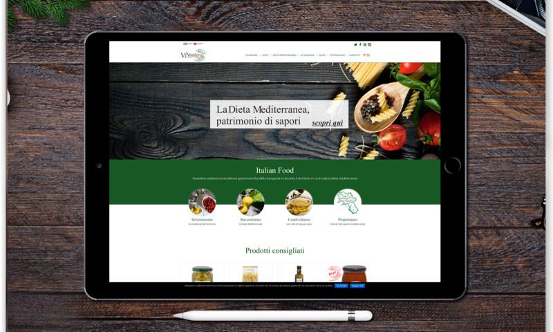 Public Image porta la Dieta Mediterranea on line